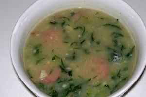 receita de caldo verde