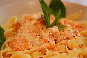 receita de massa com salmão
