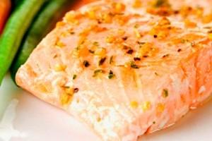 receita de salmão na frigideira