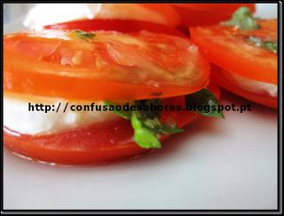 Sandwich de Tomate e Mozarela