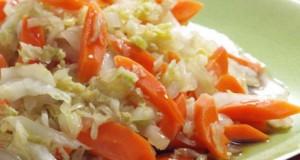 arroz couve lombarda