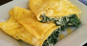omelete espinafres