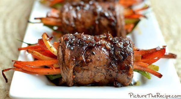 rolo de bife e legumes 2