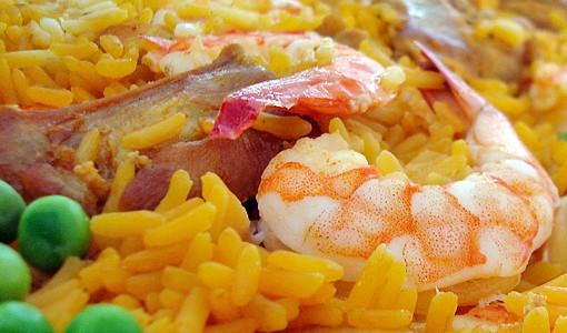 receita de arroz à valenciana