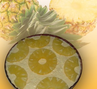 receita de mousse de ananás