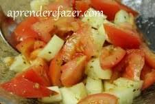 receita de salada de tomate à algarvia