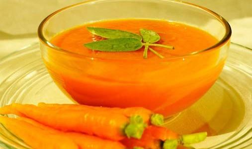 receita de creme de cenoura